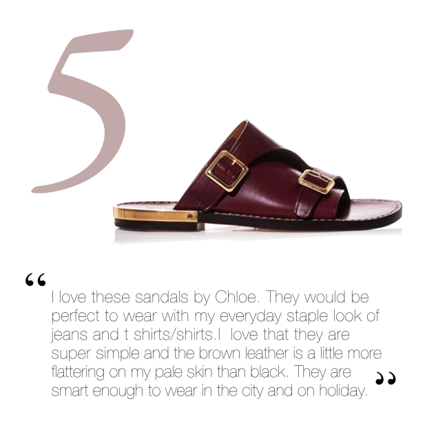 Click above for Chloe's Sandals