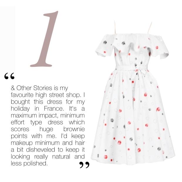 Vika Gazinskaya Dress, £79,  & Other Stories