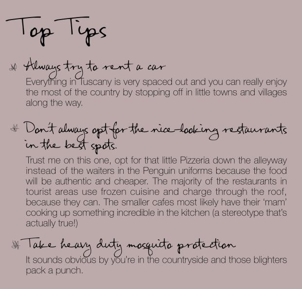tips villa