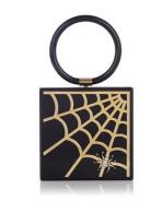 Web Clutch, £925, Charlotte Olympia
