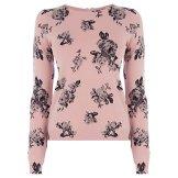 Rose Printed Crop Jumper £38, Oasis