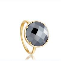 Symphony Hematite Ring, £165, Astley Clarke