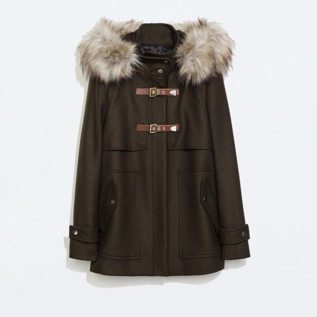 Wool Duffle Coat £159 Zara