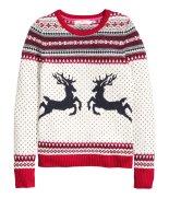 Jacquard-knit jumper, £24.99, H&M