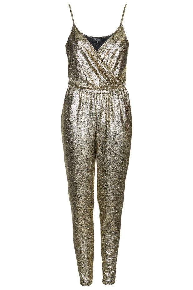 Metallic Snake Jumpsuit, £28, Topshop