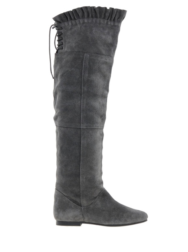Park Lane Over The Knee Boots £65, Asos