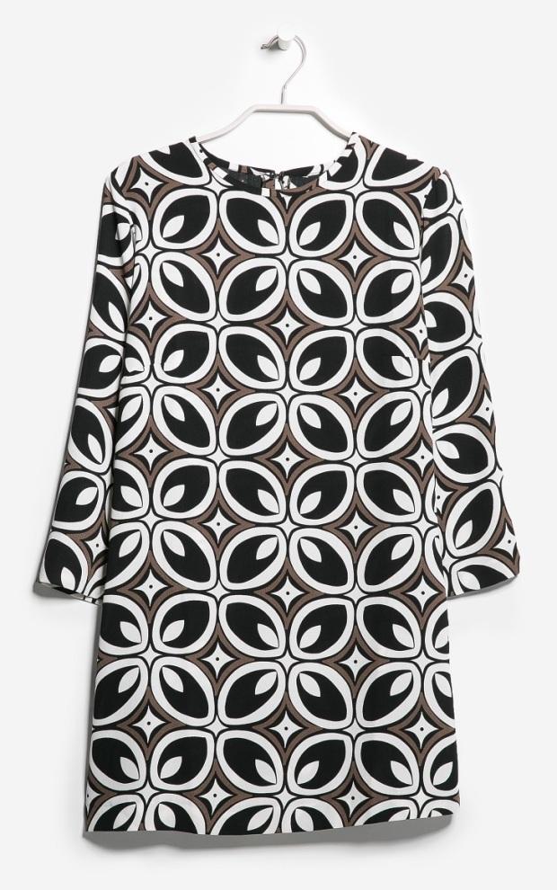 Retro Style Dress, £34.99, Mango