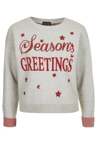 Season's Greetings Sweatshirt£40 Topshop