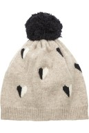 Queen of Hearts Wool Beanie, £85, Chinti and Parker at Net-A-Parker.com