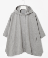 Hooded Cape Jacket £125