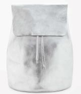 Leather Metallic Backpack £125