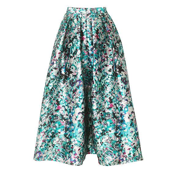 Susan Floral Print Full Skirt £225 LK Bennett