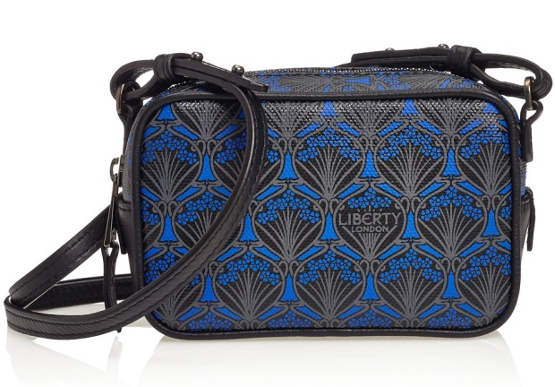 BLACK LIBERTY LONDON MADDOX SMALL CROSS-BODY BAG £210