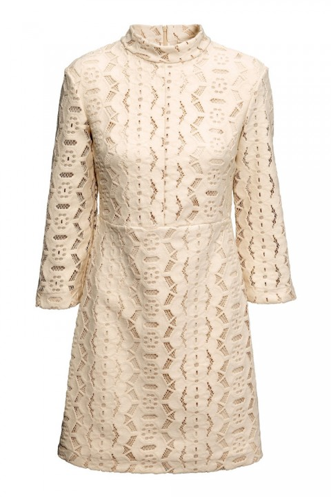 Cream Lace Dress, £49.99 H&M