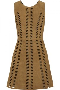 Suede Dress, £370 Maje