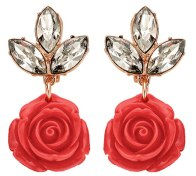 Rose Earrings, £175 Mawi
