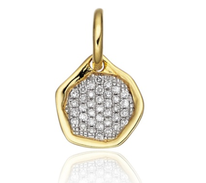 Riva Diamond Mini Pendant £190 Monica Vinader