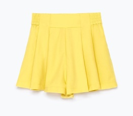 Yellow Skort, £19.99 Zara