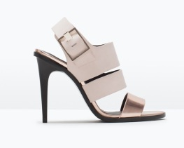 Nude Slingback Shoes, £29.99 Zara