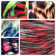 Some of the prints from the photoshoot