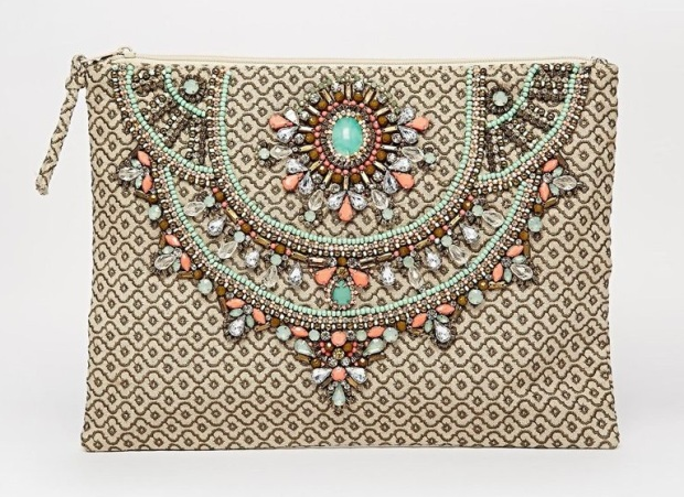 Star Mela Arla Hand Made Embellished Clutch