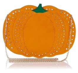 Pumpkin Pouch, £645, Charlotte Olympia
