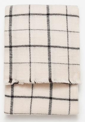 Soft Check Scarf £17.99 Zara