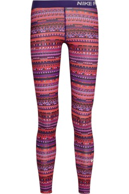 Pro Warm 8 Printed Stretch-Jersey Leggings, £63 Nike