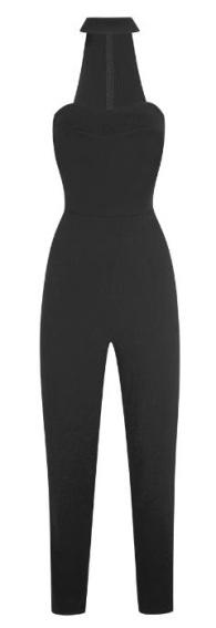 Cut out high neck jumpsuit, £65