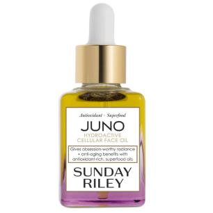 Blended with omega 3, 6, 9 oils and vitamin C. Juno suits all skin types, working particularly well on any lacklustre complexion that needs a glow