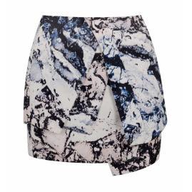 Printed skirt, £45