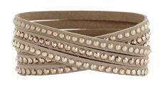 Bracelet with Swarovski Crystals, £55 Reiss