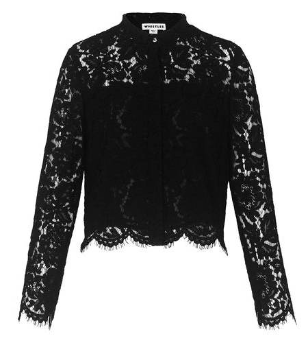 Chay Cropped Lace Shirt, £145