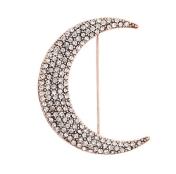 Crystal Moon Brooch, £7.50 Toshop
