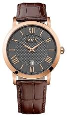 1513138 Men's Gentlemen Leather Strap Watch, £179 Hugo Boss