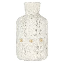 John Lewis Croft Collection Cable Knit Hot Water Bottle, £15