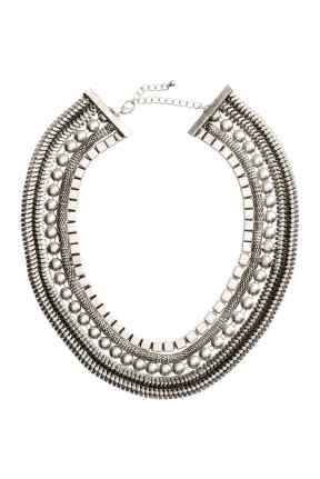 Multistrand Necklace, £12.99 H&M