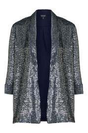 Sequin Boyfriend Jacket, £80 Topshop