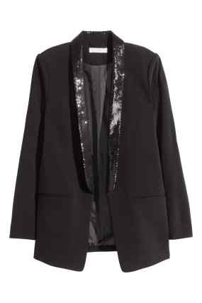 Sequin Dinner Jacket, £29.99 H&M
