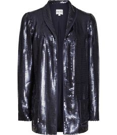 Sequin Jacket, £130 Reiss