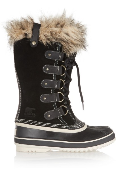 Joan of Arctic Waterproof Suede and Leather Boots £150 Sorel