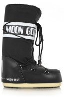Piqué-Shell and Leather Ski Boots £80 MoonBoot