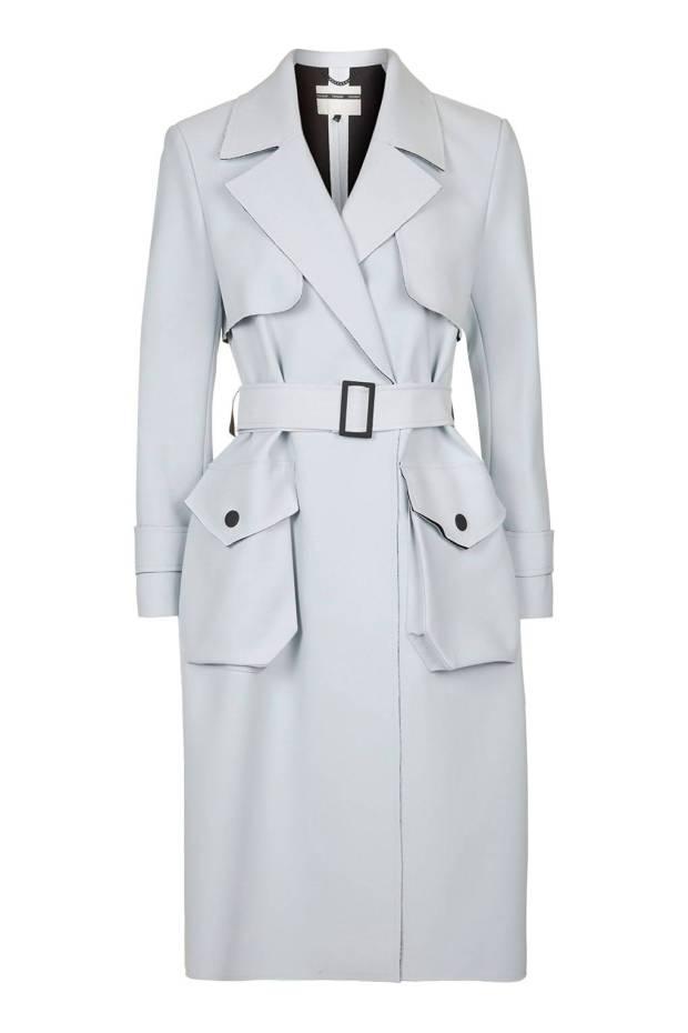 Bonded Belted Truster Coat