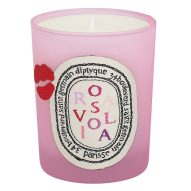 Diptyque and Olympia Le-Tan Rosaviola candle, £44, Selfridges