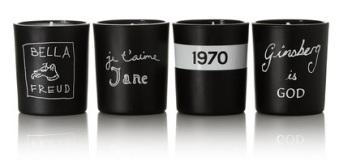 Mini Votive Set of Four Candles, £70 Bella Freud