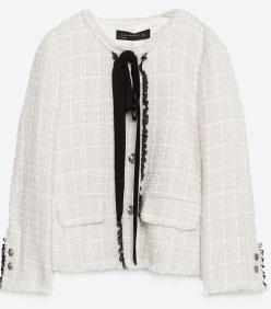 Tweed Jacket, £69.99 Zara
