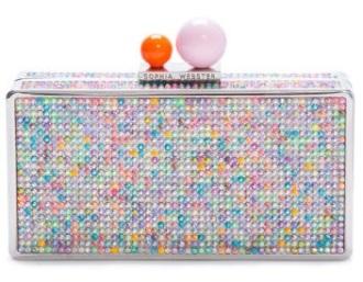Clara Dreamy crystal clutch, £350