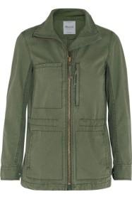 Fleet Brushed-Cotton Jacket, £125 Madewell