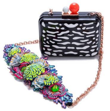 Vivi Lilico minaudière bag with chain, £450