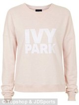 Pink Logo Sweater, £